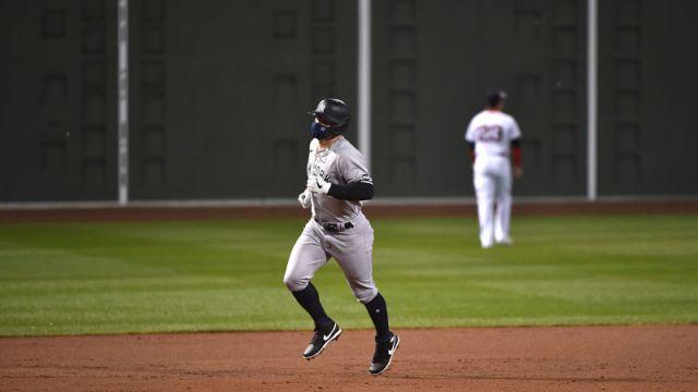 New York Yankees left fielder Clint Frazier