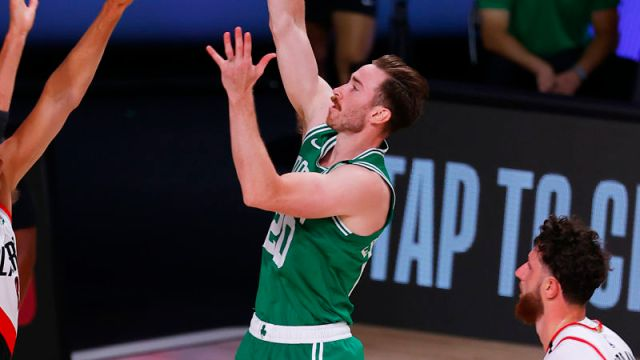 Boston Celtics forward Gordon Hayward