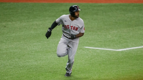 Boston Red Sox outfielder Jackie Bradley Jr.