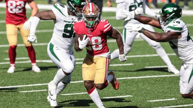 San Francisco 49ers running back Jerick McKinnon