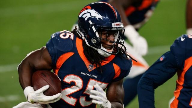 Denver Broncos running back Melvin Gordon
