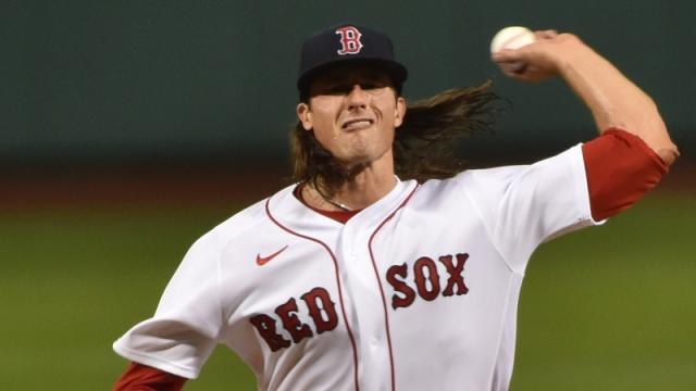 Boston Red Sox Pitcher Mike Kickham