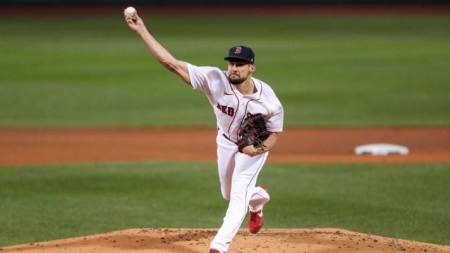 Boston Red Sox Pitcher Nathan Eovaldi