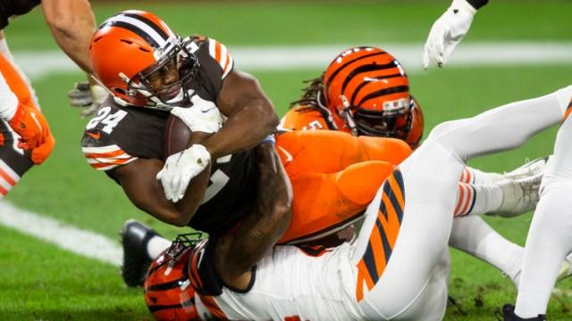 Cleveland Browns' Nick Chubb