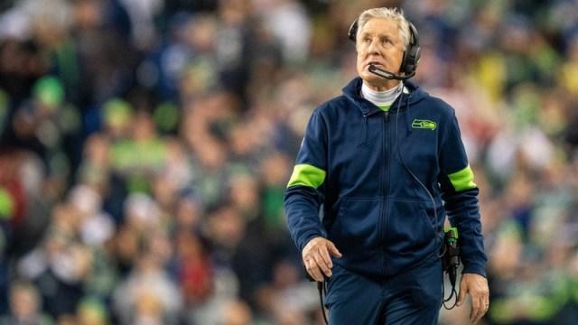 Seattle Seahawks head coach Pete Carroll