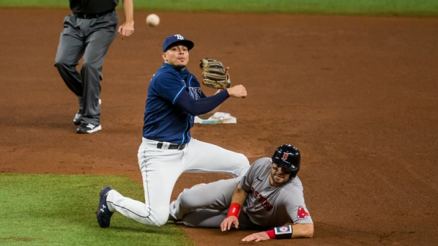Boston Red Sox Kevin Plawecki