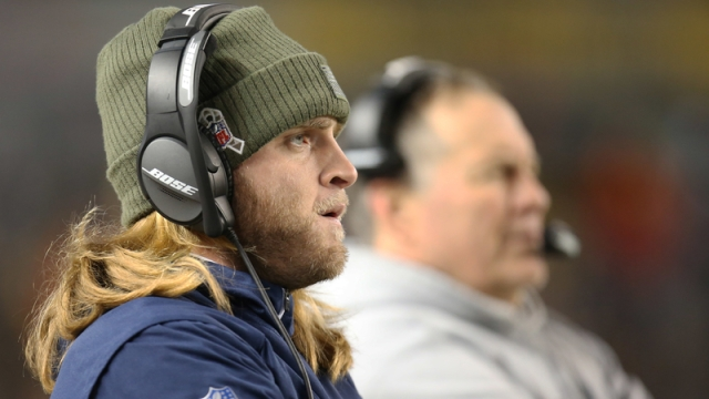 New England Patriots assistant coach Steve Belichick