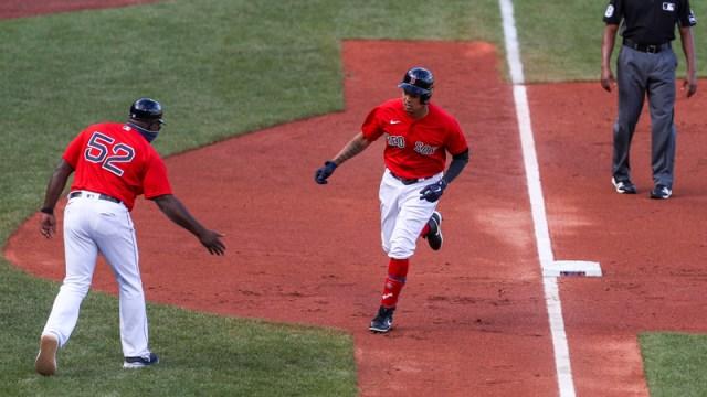 Boston Red Sox Outfielder Yairo Munoz