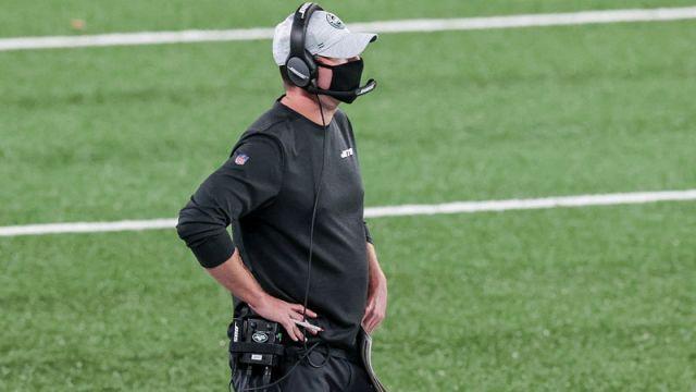New York Jets head coach Adam Gase
