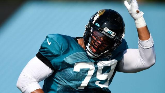 New England Patriots defensive tackle Carl Davis