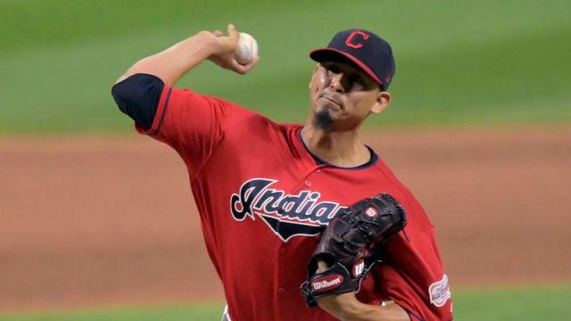 Cleveland Indians pitcher Carlos Carrasco