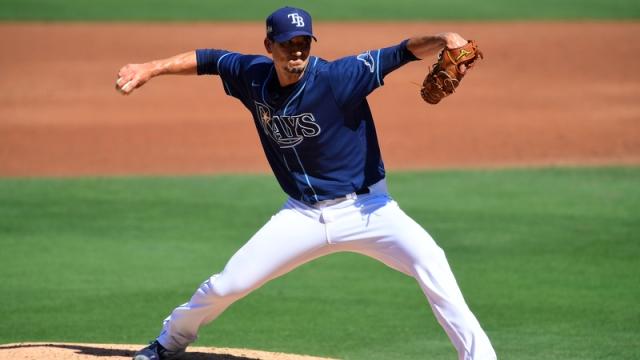 Tampa Bay Rays Pitcher Charlie Morton