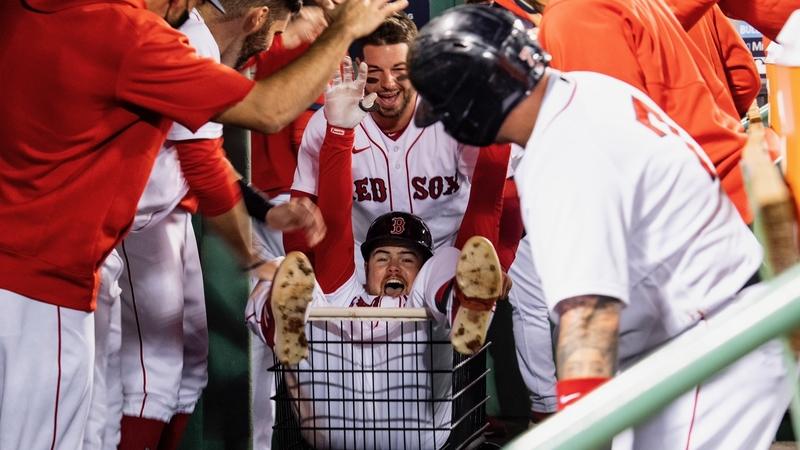 Christian Arroyo Explains How New Red Sox Home Run Cart Tradition Began - NESN.com