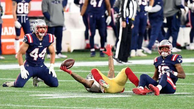 New England Patriots tight end Dalton Keene, New England Patriots wide receiver Matthew Slater