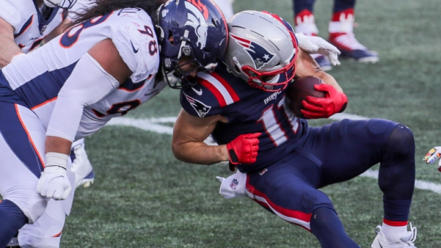 New England Patriots receiver Julian Edelman