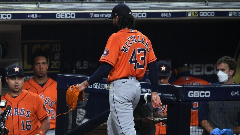 Astros' Lance McCullers Caught Taking Jab At Rays Batter During ALCS - NESN.com