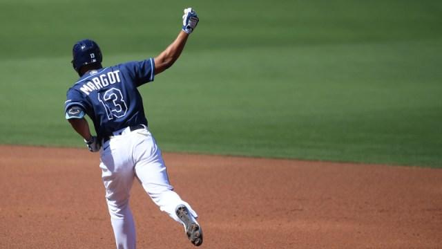 Tampa Bay Rays Right Fielder Manny Margot