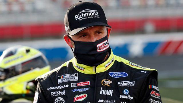 NASCAR driver Matt DiBenedetto