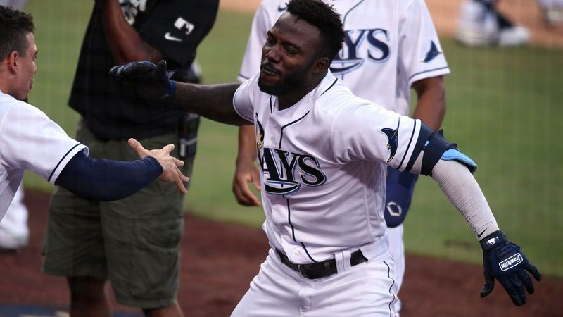 rays rookie randy arozarena makes mlb history in alcs game 7 vs astros nesn com rays rookie randy arozarena makes mlb