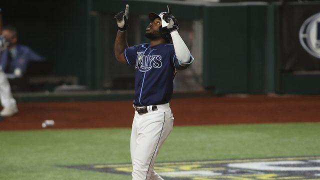 ampa Bay Rays designated hitter Randy Arozarena