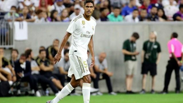 eal Madrid defender Raphael Varane
