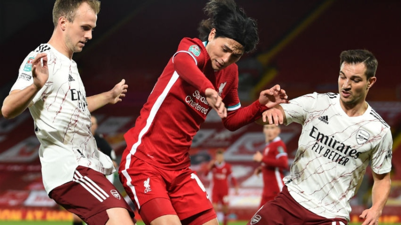 Liverpool Vs. Arsenal: Score, Highlights Of Carabao Cup Game