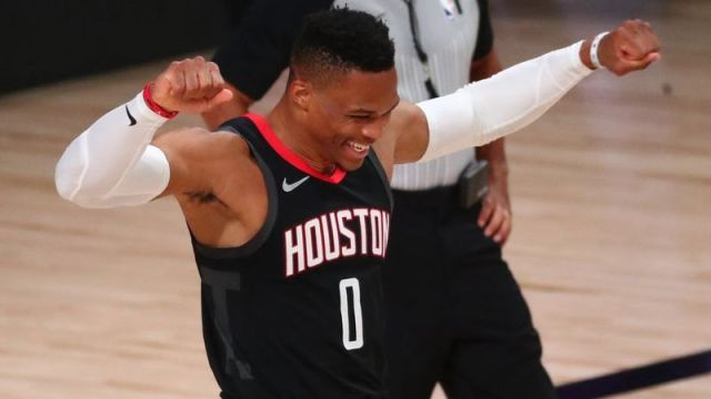 Houston Rockets guard Russell Westbrook
