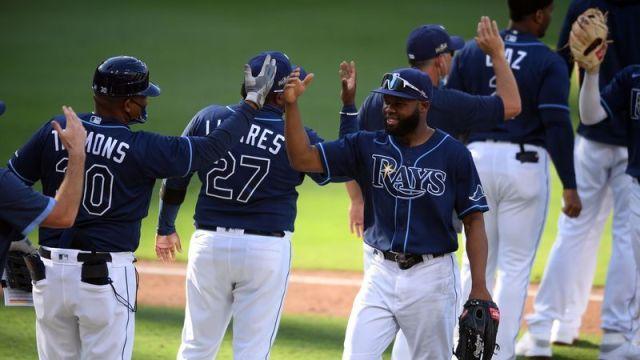 Tampa Bay Rays right fielder Manuel Margot