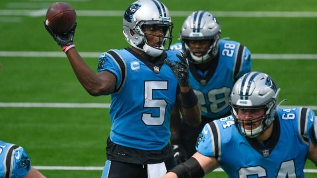 Carolina Panthers quarterback Teddy Bridgewater