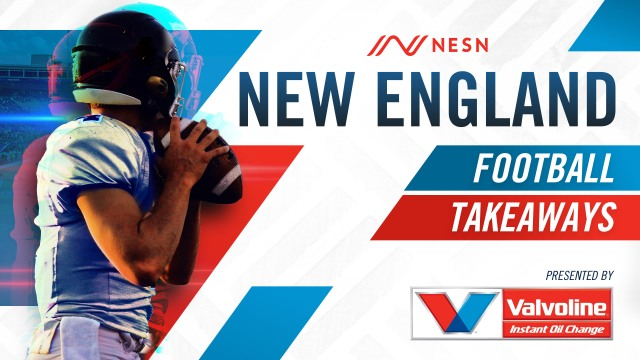 NESN's New England Football Takeaways Presented by Valvoline