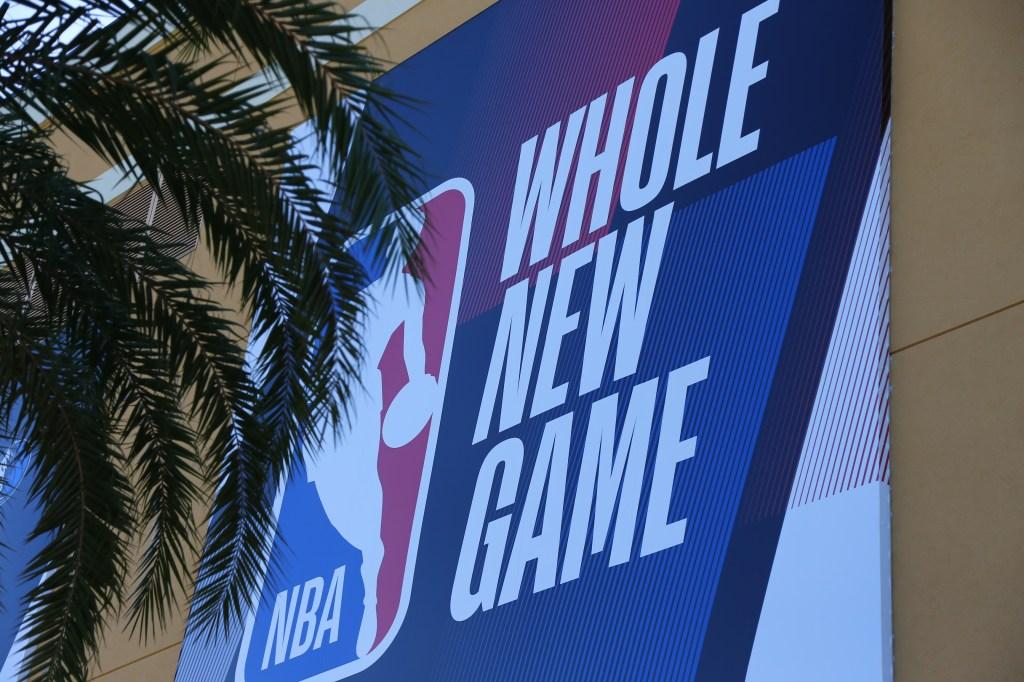 NBA Bubble Logo