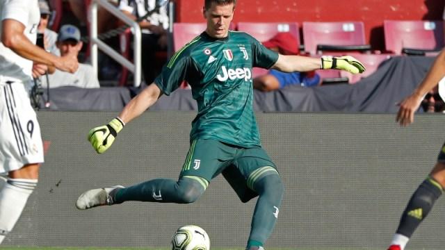 Juventus goalkeeper Wojciech Szczesny