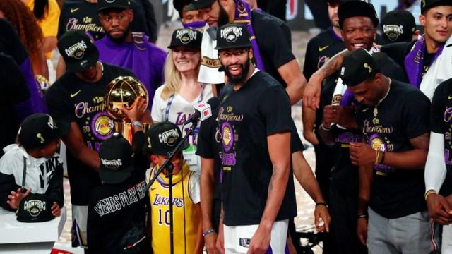 Los Angeles Lakers Forward Anthony Davis