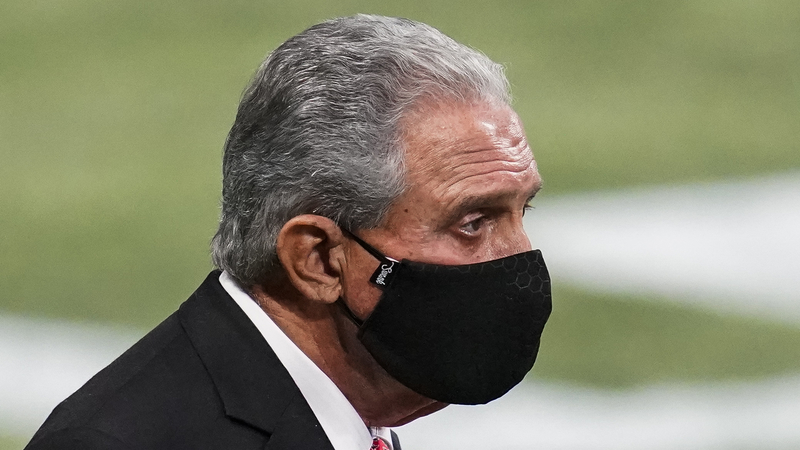 Of Course Arthur Blank Was On Sidelines For Falcons' Meltdown Vs. Lions - NESN.com