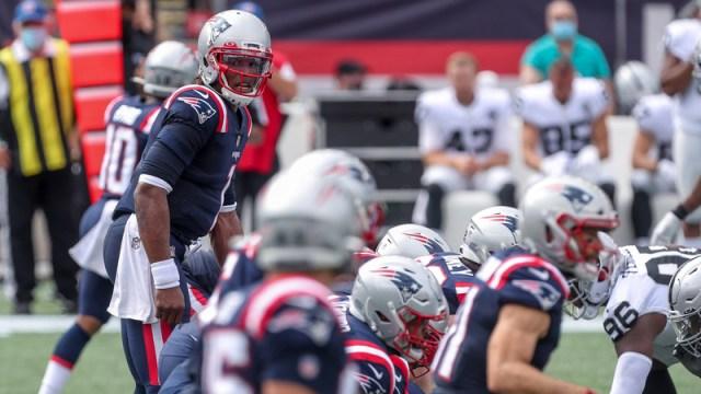 New England Patriots' Cam Newton