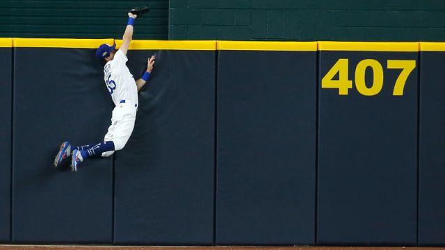 Los Angeles Dodgers center fielder Cody Bellinger
