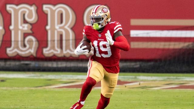 San Francisco 49ers wide receiver Deebo Samuel