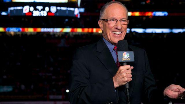 """NHL broadcaster Mike """"Doc"""" Emrick"""