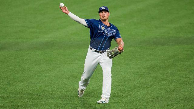 Tampa Bay Rays right fielder Hunter Renfroe