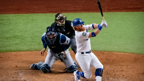 Los Angeles Dodgers Third Baseman Justin Turner