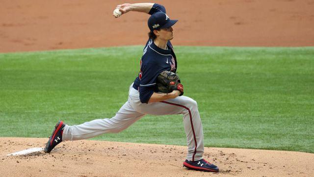 Atlanta Braves starting pitcher Max Fried