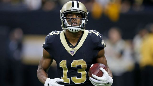 New Orleans Saints wide receiver Michael Thomas