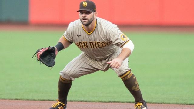 San Diego Padres first baseman Mitch Moreland