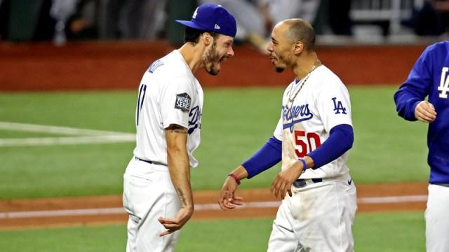 Los Angeles Dodgers' Mookie Betts