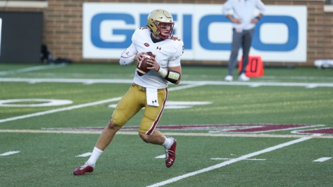 Boston College QB Phil Jurkovec