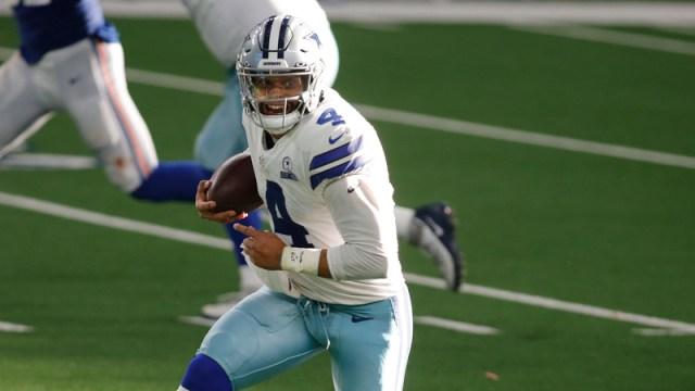 Dallas Cowboys' Dak Prescott