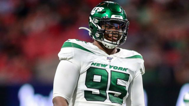 New York Jets defensive lineman Quinnen Williams
