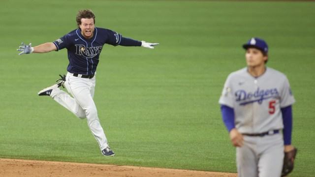 Tampa Bay Rays right fielder Brett Phillips