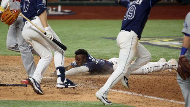 Tampa Bay Rays designated hitter Randy Arozarena
