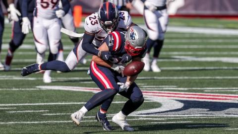 New England Patriots' Ryan Izzo